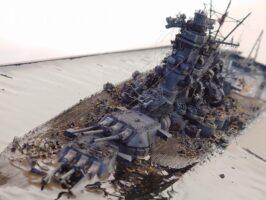 戦艦武蔵の最期 1944年10月24日(きら工房様)